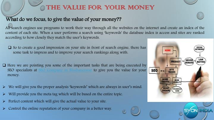 The value for your money