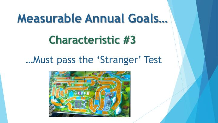 Measurable Annual