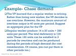 example chase demand