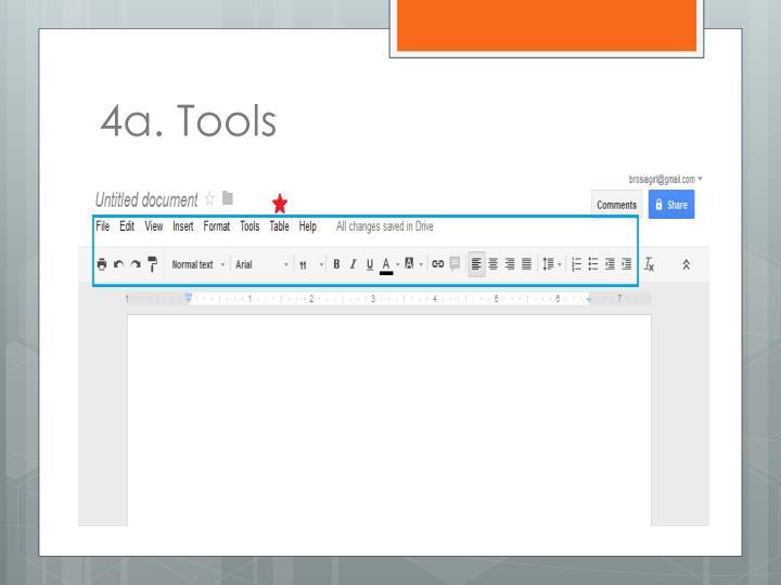 4a. Tools
