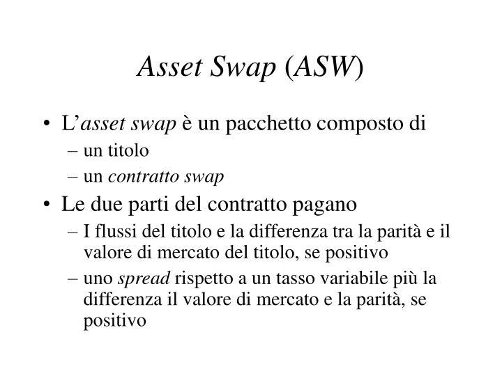 Asset Swap