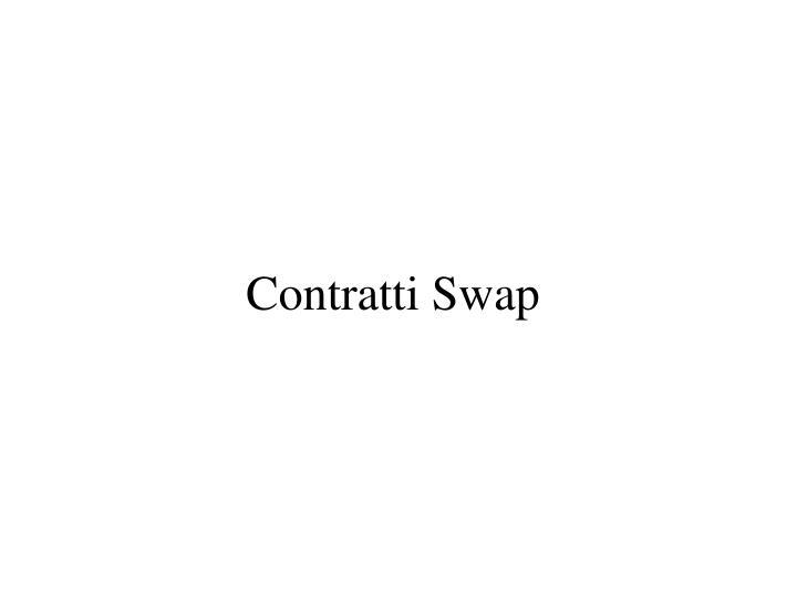 Contratti swap