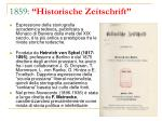 1859 historische zeitschrift
