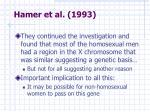 hamer et al 1993