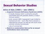 sexual behavior studies2