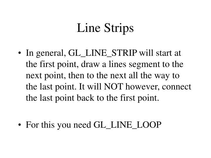 Line Strips