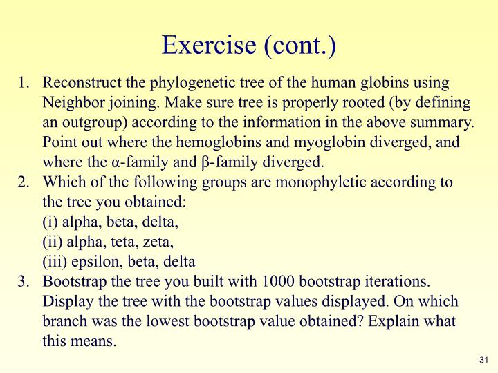 Exercise (cont.)