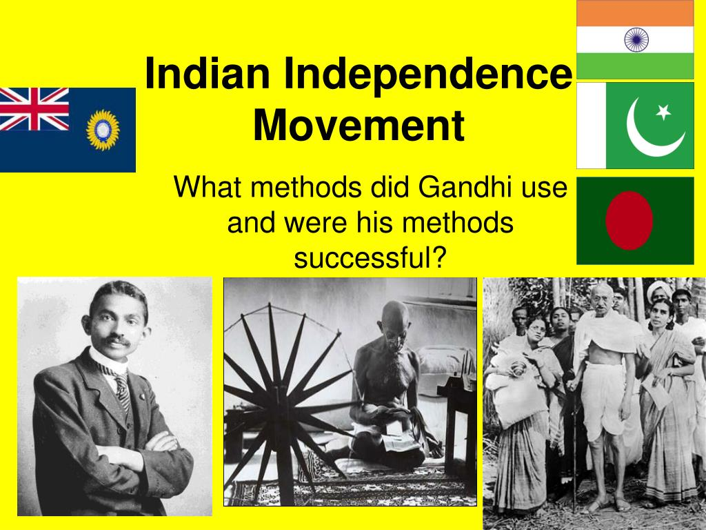 ppt indian independence movement powerpoint presentation id 6204593