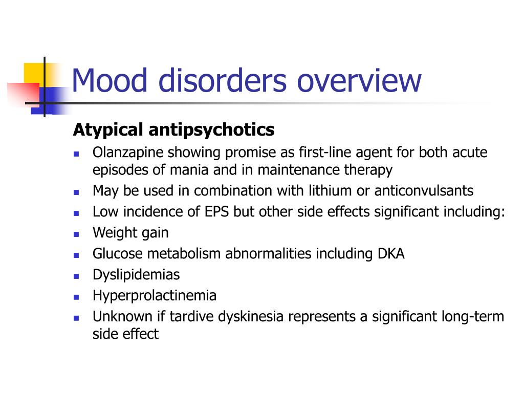 Ppt Overview Of Mood Disorders Powerpoint Presentation