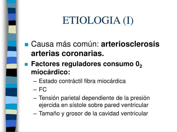 Etiologia i