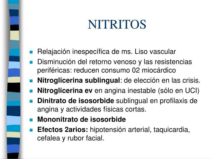 NITRITOS