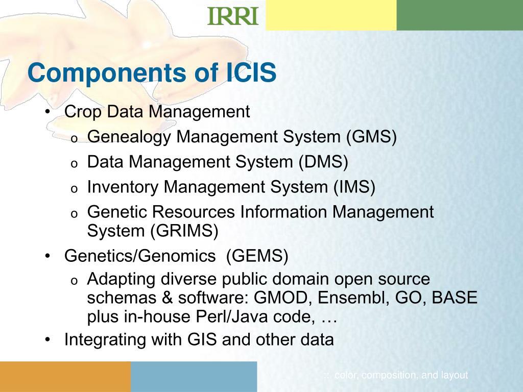 PPT - International Crop Information System PowerPoint Presentation