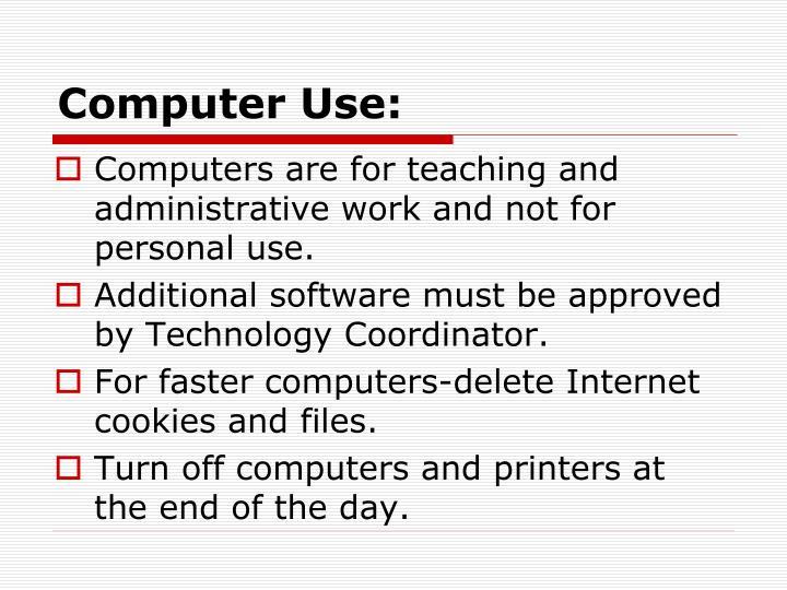 Computer Use: