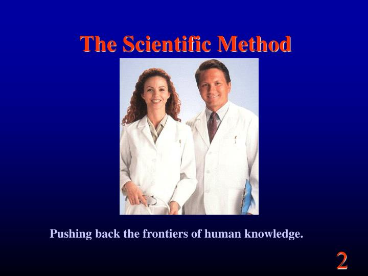 scientific method and human development