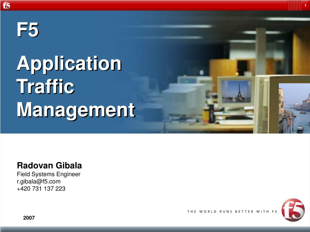 PPT - F5 Application Traffic Management PowerPoint