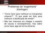 problemas de engenharia kerlinger