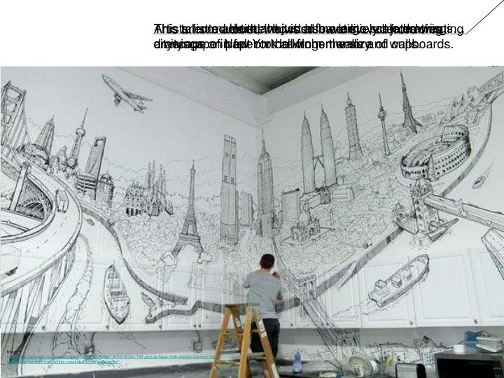 Here are just a few large scale drawings…
