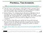 payroll tax evasion video http www myfoxphilly com dpp money nifty fifties tax troubles 051612