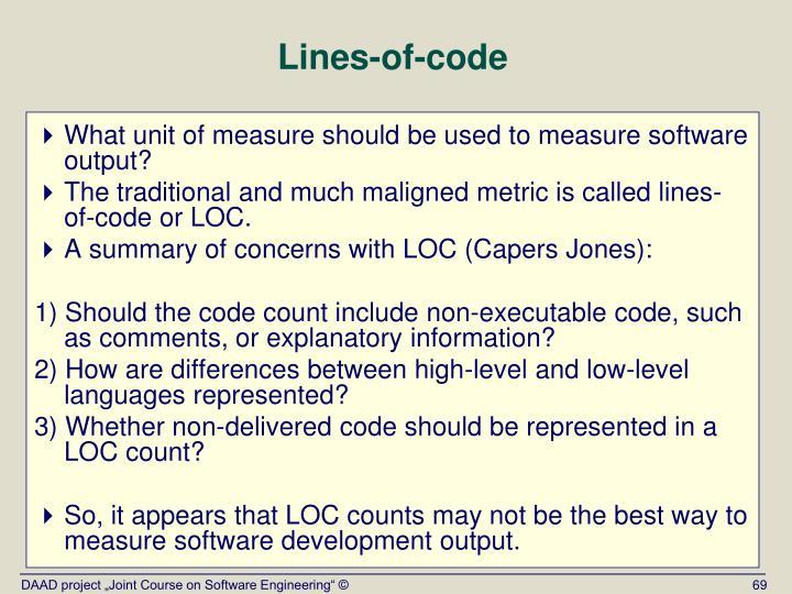 Lines-of-code