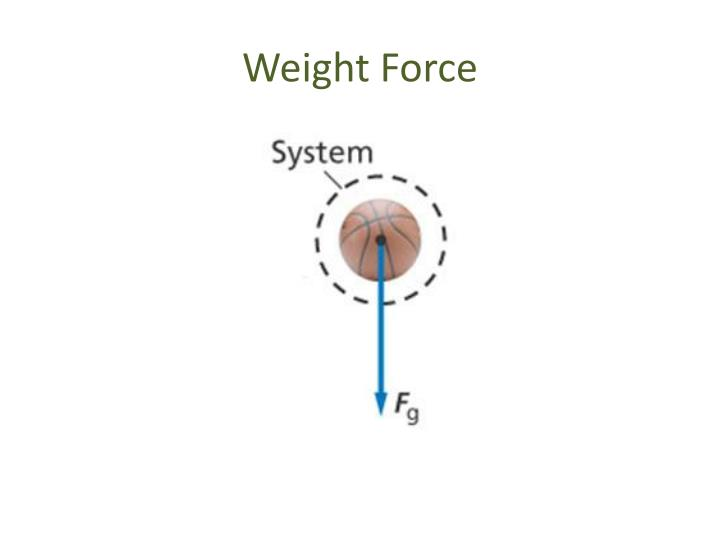 Weight Force