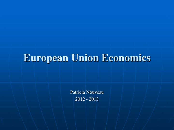 european union economics n.