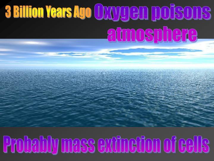 Oxygen poisons