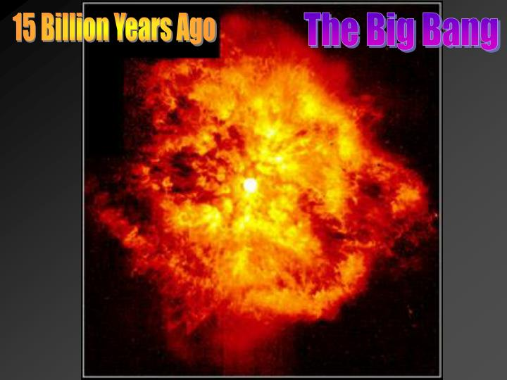 15 Billion Years Ago