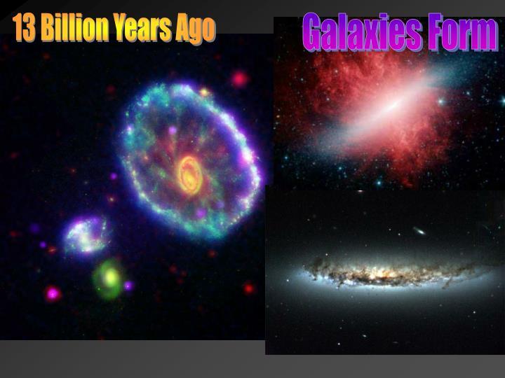 13 Billion Years Ago