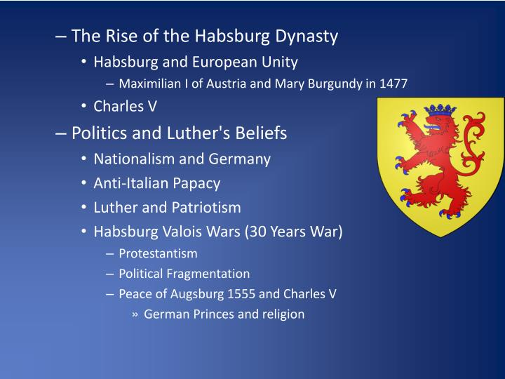 The Rise of the Habsburg Dynasty