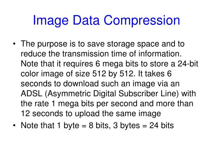Image Data Compression