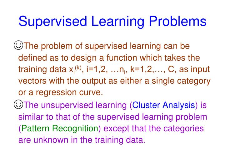 Supervised Learning Problems