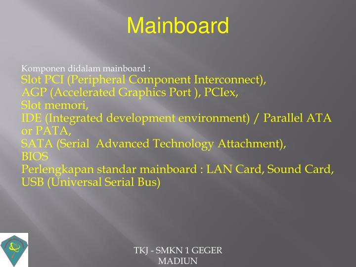 Mainboard