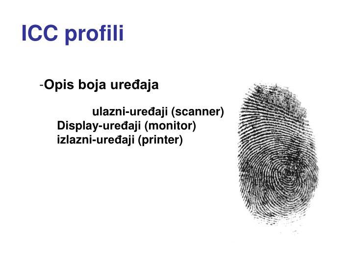 ICC profil