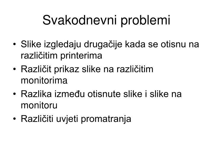 Svakodnevni problemi