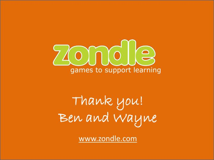 games to support learning