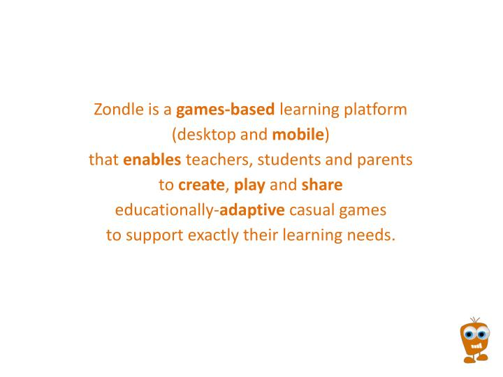 Zondle is a