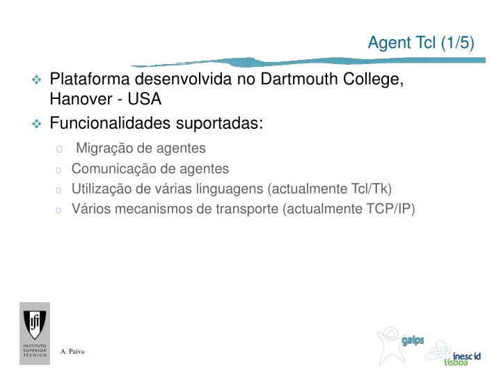 Agent Tcl (1/5)
