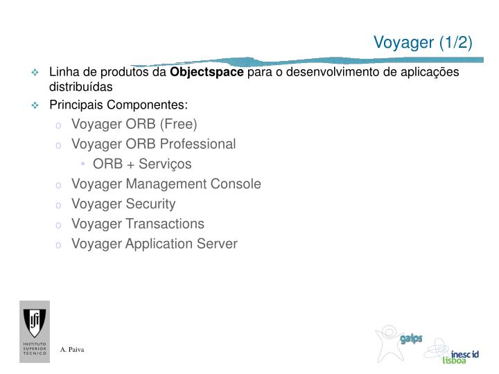 Voyager (1/2)