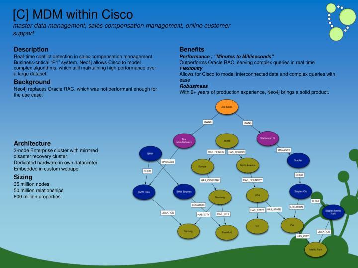 [C] MDM within Cisco