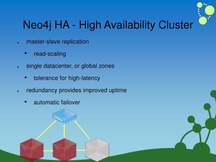 Neo4j HA - High Availability Cluster
