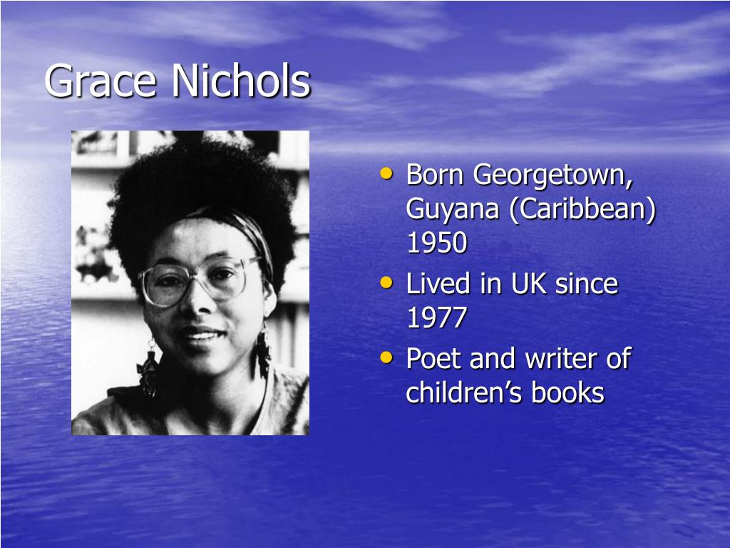 Ppt Island Man By Grace Nichols Powerpoint Presentation