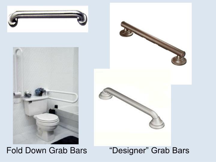 Fold Down Grab Bars