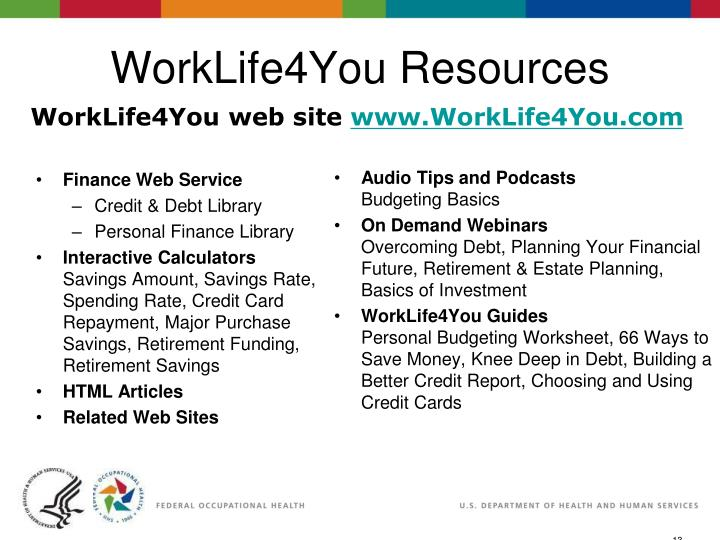 eSlide - P4065 - WorkLife4You