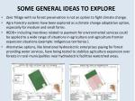 some general ideas to explore