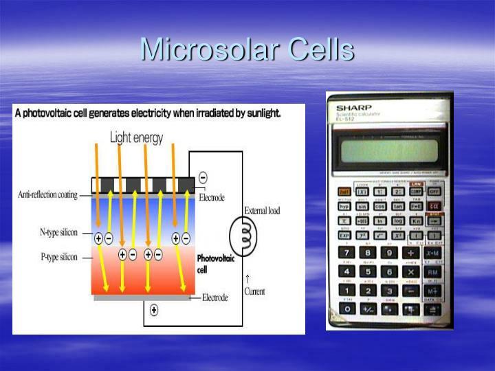 Microsolar Cells