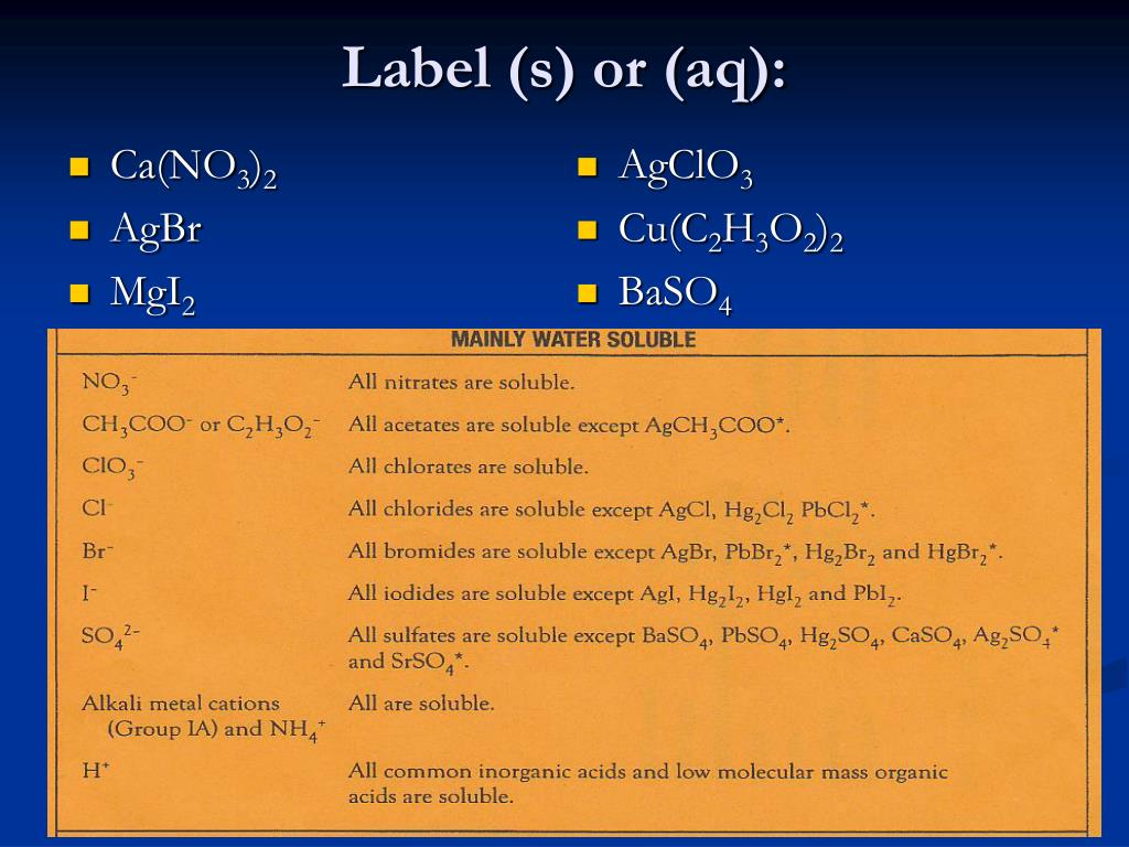 PPT - Solubility PowerPoint Presentation - ID:6209353