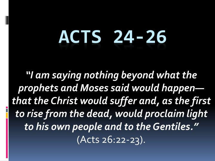 acts 24 26 n.