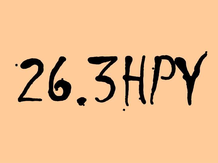 26.3HPY