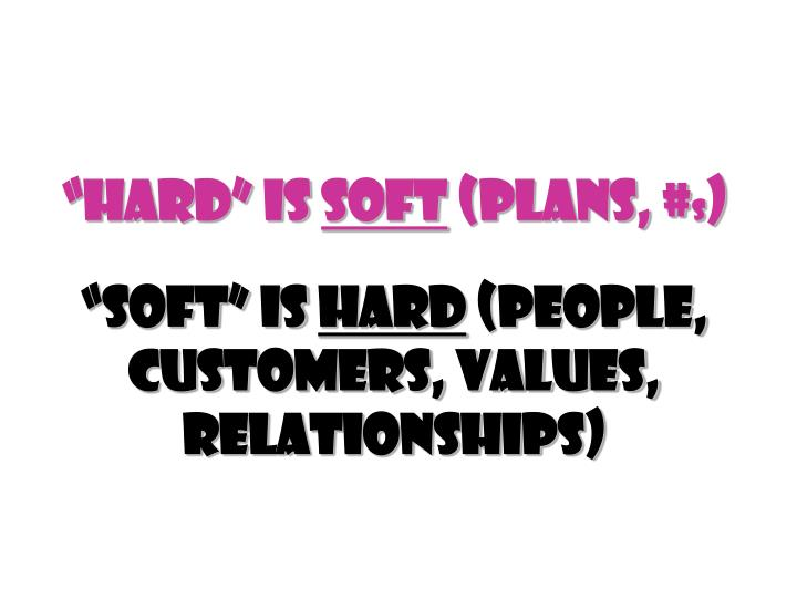"""Hard"" Is"