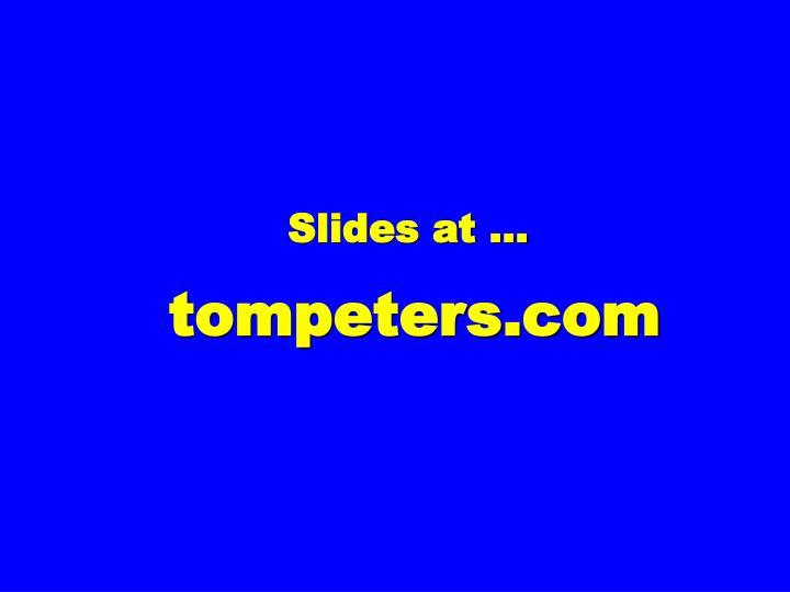 Slides at …